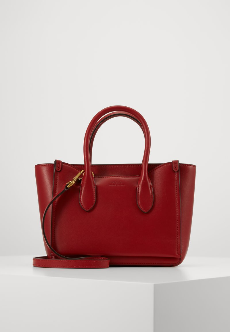Polo Ralph Lauren - MINI SLOANE - Bolso de mano - scarlet