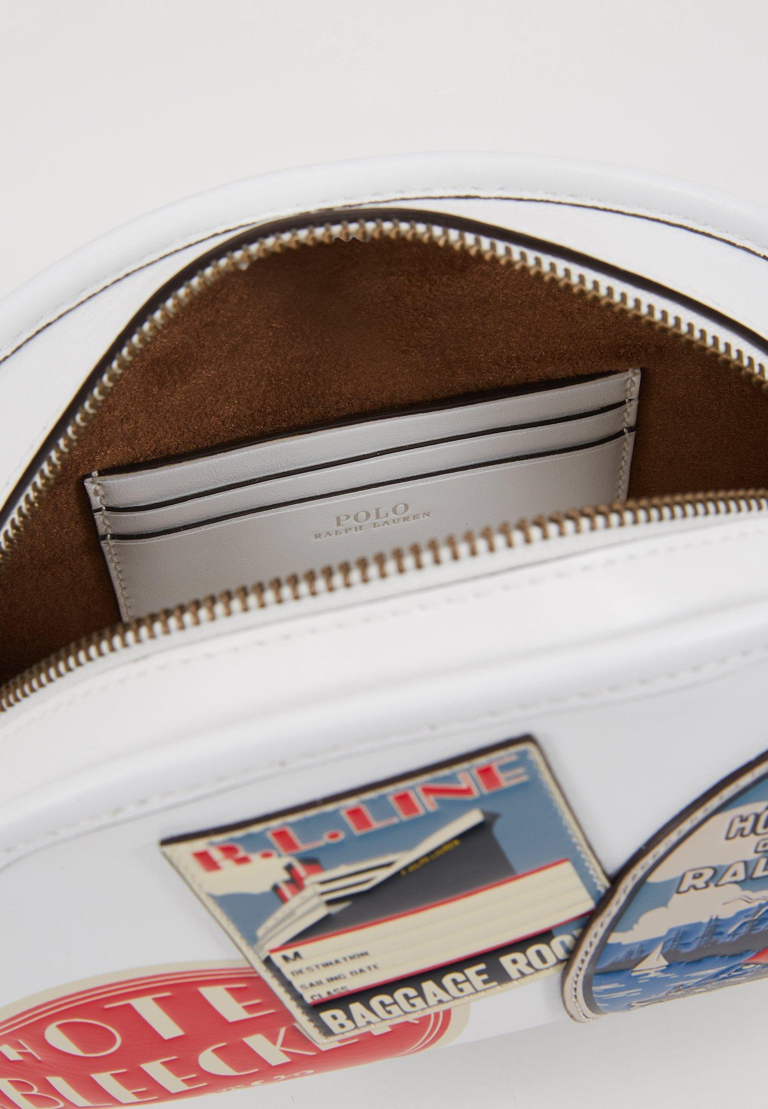 Polo Ralph Lauren Travel Half Moon - Skulderveske White/multi