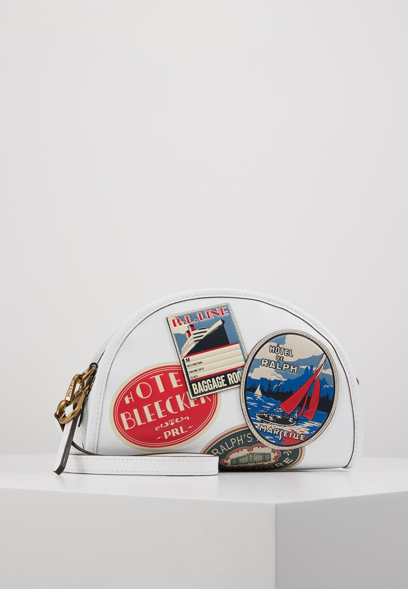 Polo Ralph Lauren - TRAVEL HALF MOON  - Borsa a tracolla - white/multi
