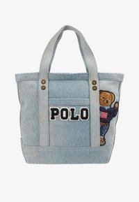 Polo Ralph Lauren - BEAR SMALL - Velká kabelka - denim - 5
