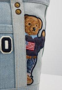 Polo Ralph Lauren - BEAR SMALL - Velká kabelka - denim - 6