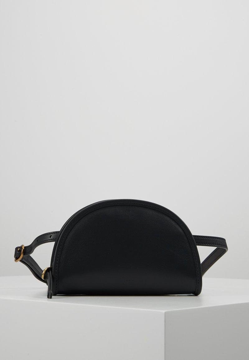 Polo Ralph Lauren - SMOOTH BLEECKER MINI - Ledvinka - black