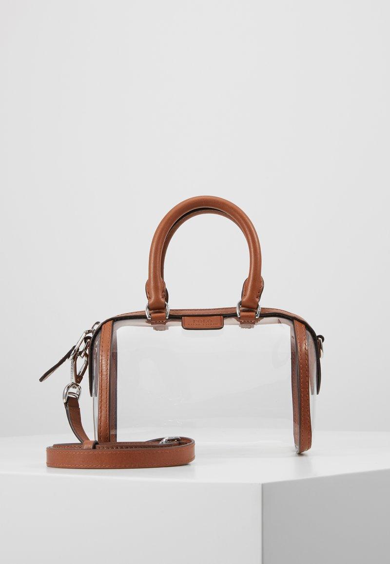 Polo Ralph Lauren - CAMDEN - Borsa a tracolla - clear/cuoio