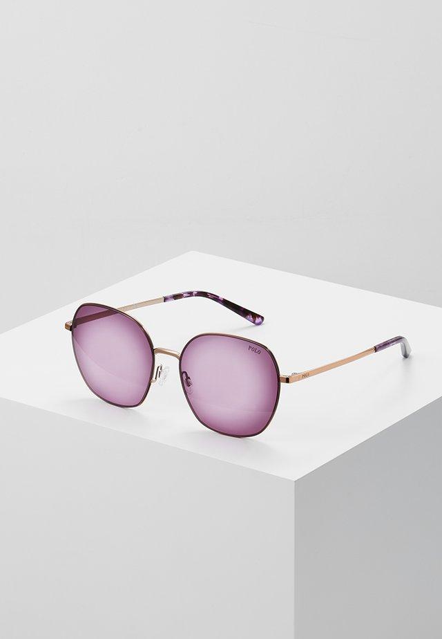 Okulary przeciwsłoneczne - rose gold-coloured