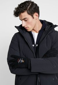 Polo Ralph Lauren - BLEND EXTREME BEAR - Guanti - black/red - 0