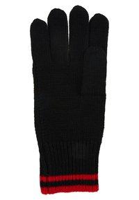 Polo Ralph Lauren - BLEND EXTREME BEAR - Guanti - black/red - 3