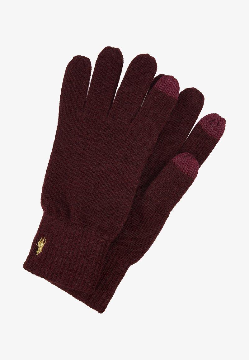 Polo Ralph Lauren - Fingerhandschuh - wine