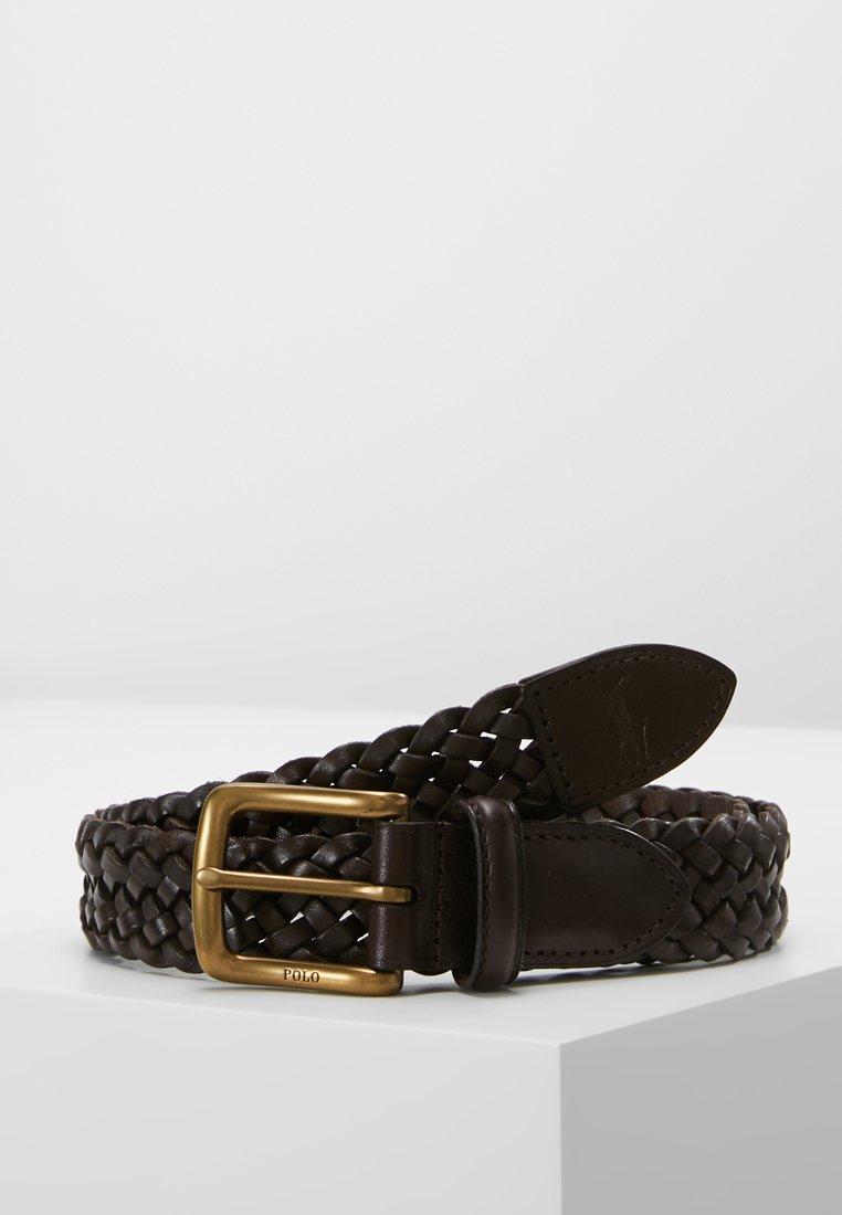 Polo Ralph Lauren - WESTEND BRAID - Gürtel - dark brown