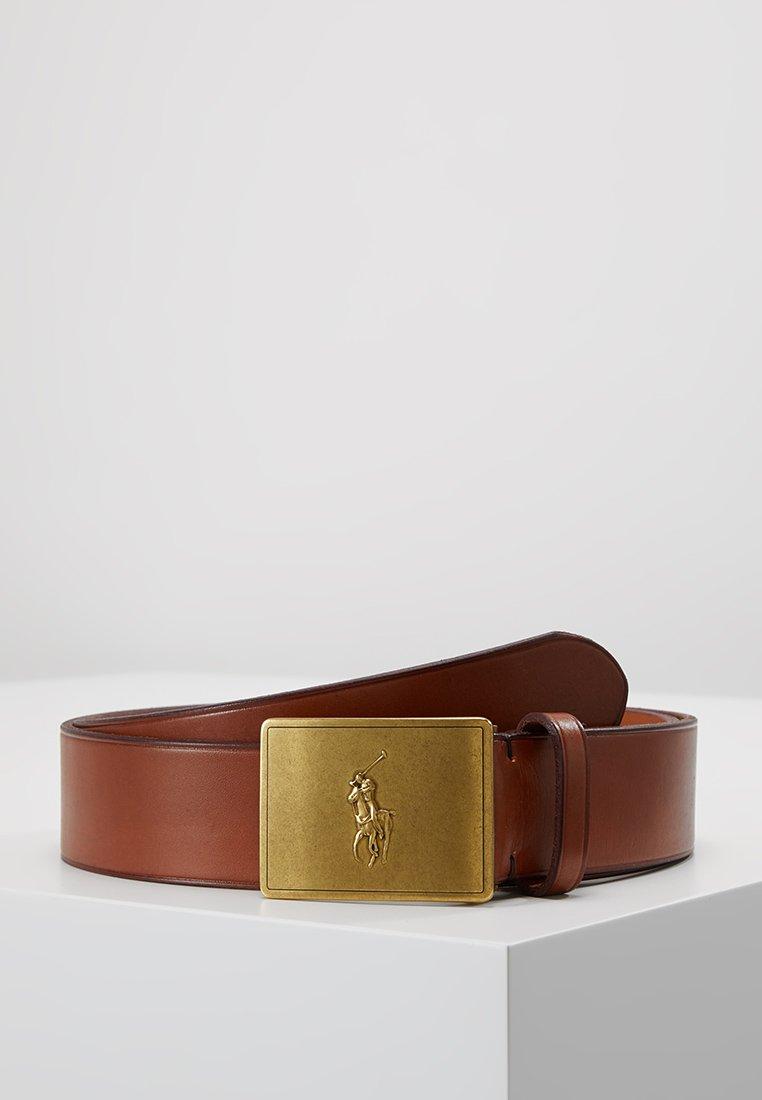 Polo Ralph Lauren - PLAQUE BELT - Cinturón - tan