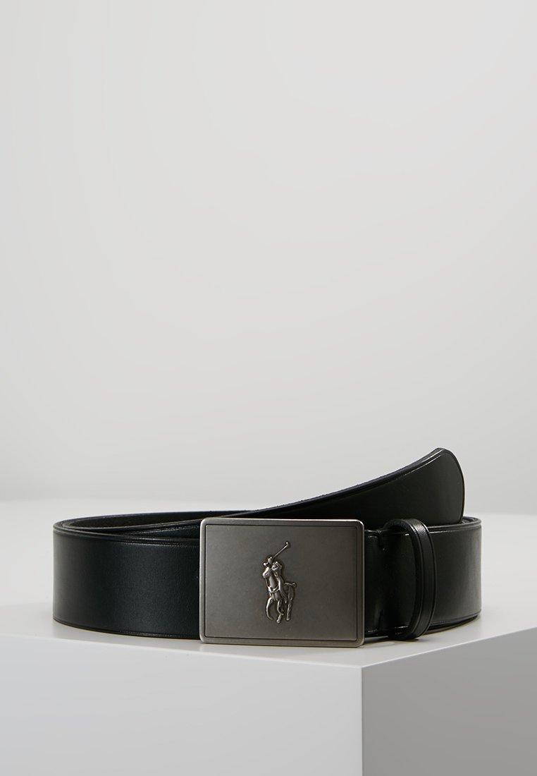 Polo Ralph Lauren - PLAQUE BELT - Belt - black