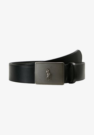 PLAQUE BELT - Pásek - black