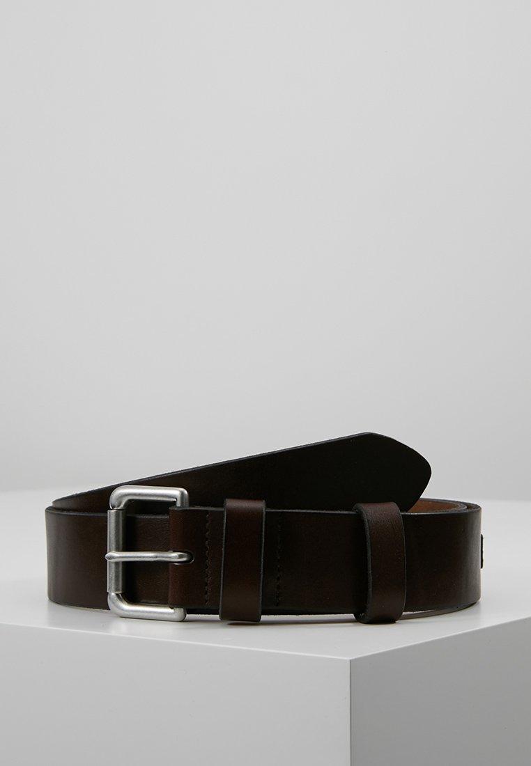 Polo Ralph Lauren - ROLLER BUCKLE BELT - Gürtel business - brown
