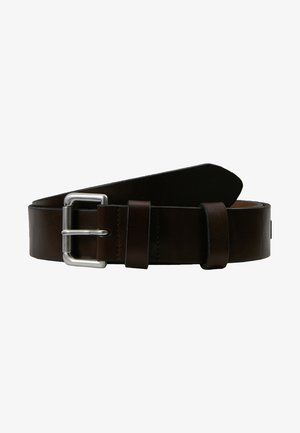 ROLLER BUCKLE BELT - Cinturón - brown