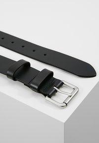 Polo Ralph Lauren - ROLLER BUCKLE BELT - Bælter - black - 2