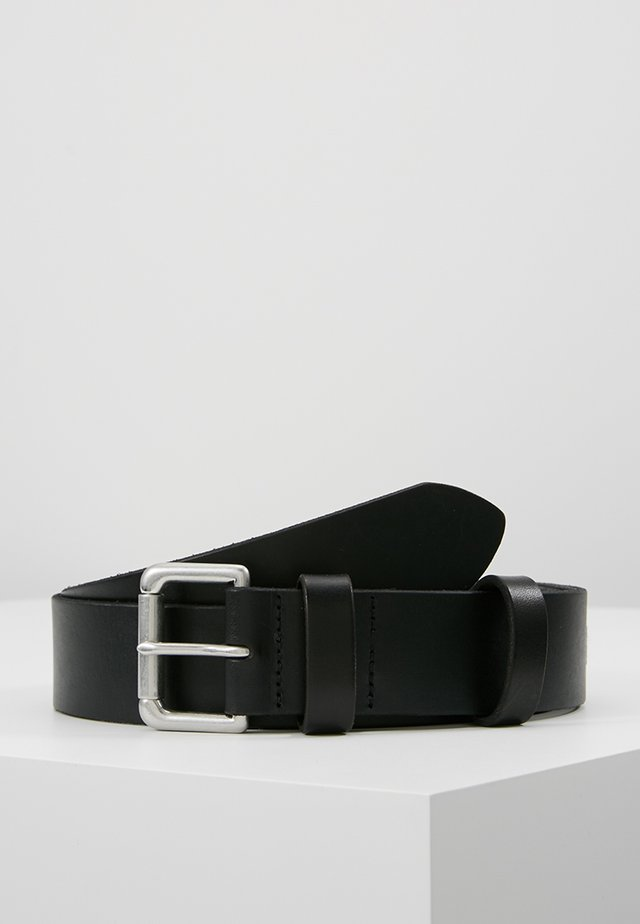 ROLLER BUCKLE BELT - Skärp - black
