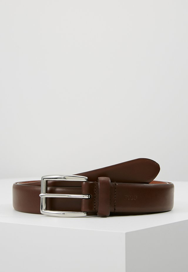 SADDLE BELT  - Riem - brown
