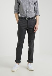Polo Ralph Lauren - SADDLE BELT  - Cintura - black - 1