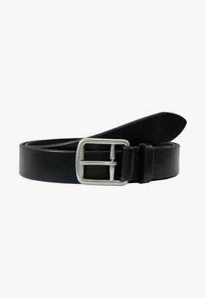 SADDLE BELT - Formální pásek - black