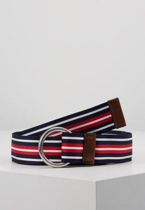 Belt - french navy/white