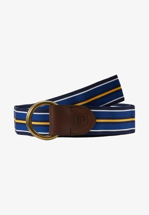 Gürtel - navy/white/royal