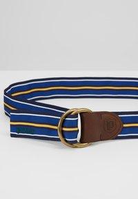 Polo Ralph Lauren - Pasek - navy/white/royal - 4
