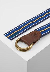 Polo Ralph Lauren - Pasek - navy/white/royal - 2