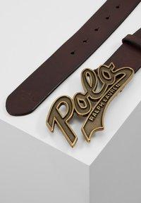 Polo Ralph Lauren - SMOOTH - Belt - brown - 2