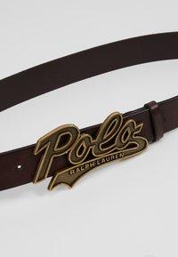 Polo Ralph Lauren - SMOOTH - Belt - brown - 4