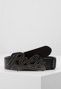Polo Ralph Lauren - SMOOTH - Belt - black - 0