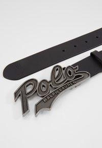 Polo Ralph Lauren - SMOOTH - Belt - black - 3