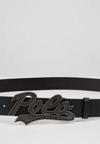 Polo Ralph Lauren - SMOOTH - Belt - black - 2
