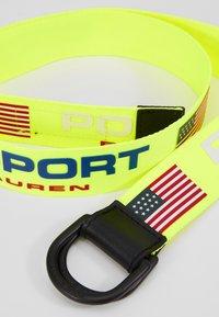 Polo Ralph Lauren - CASUAL - Belt - neon yellow - 2