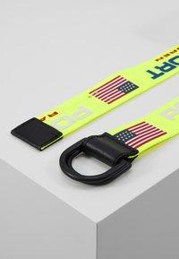 Polo Ralph Lauren - CASUAL - Belt - neon yellow - 3