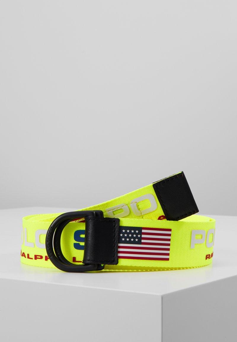 Polo Ralph Lauren - CASUAL - Belt - neon yellow