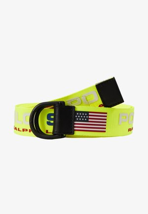 CASUAL - Pásek - neon yellow