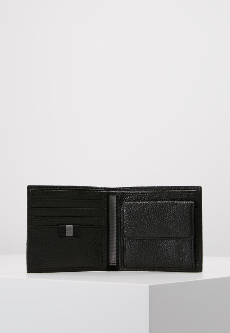 Polo Ralph Lauren LOGO BILL COIN - Portfel - black