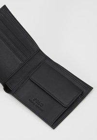 Polo Ralph Lauren - WALLET SMOOTH - Peněženka - black - 5