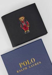 Polo Ralph Lauren - WALLET SMOOTH - Peněženka - black - 2