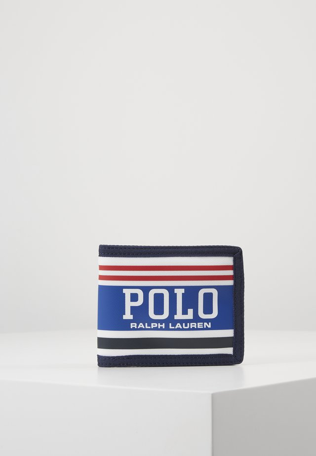 WALLET - Portfel - red/white/navy