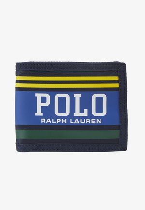 WALLET - Portefeuille - navy/yellow/green