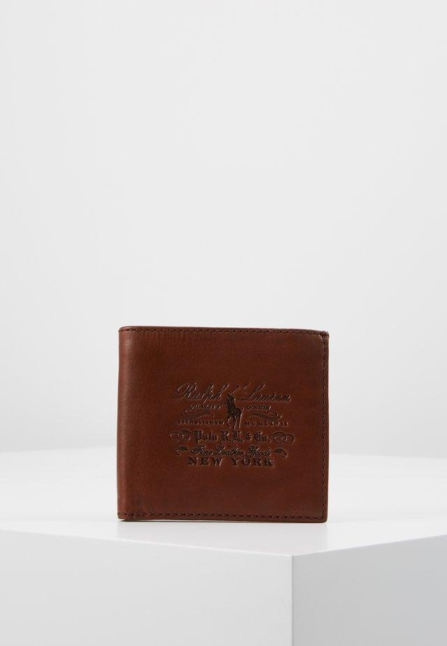 BILLFOLD WALLET SMOOTH - Portafoglio - brown