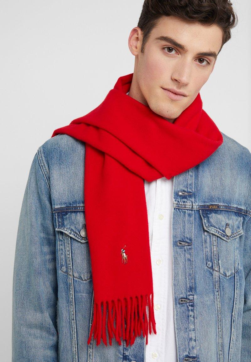 Polo Ralph Lauren - SIGN ITALIAN - Sjal - red