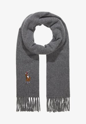 BIG MULT - Bufanda - fawn grey heather
