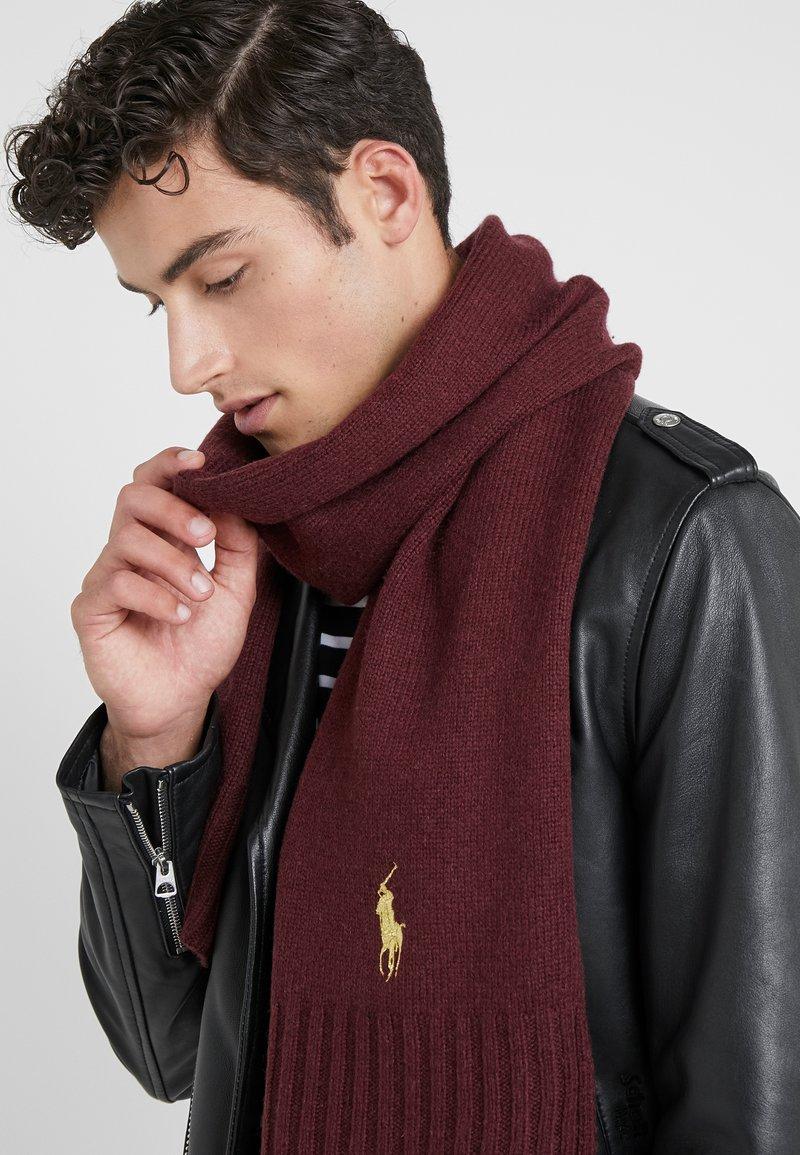 Polo Ralph Lauren - BLEND - Bufanda - burgundy