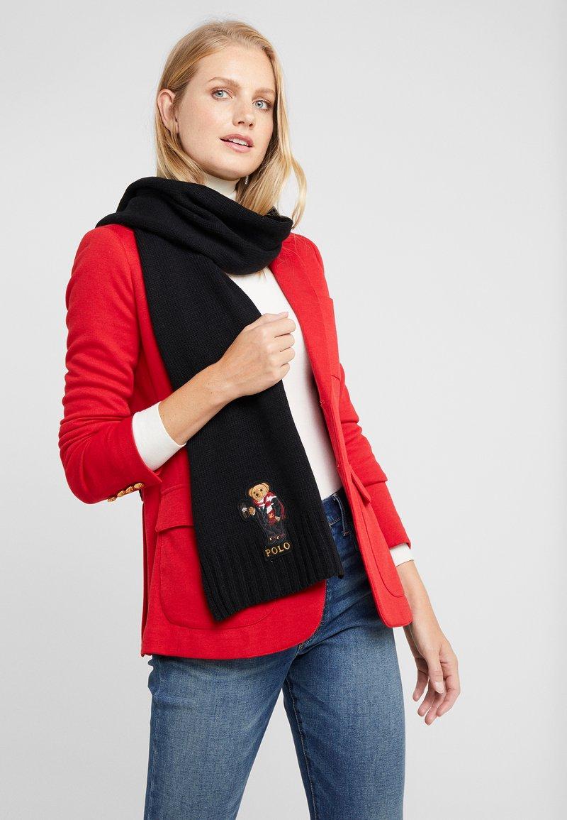 Polo Ralph Lauren - COCOA BEAR - Bufanda - black