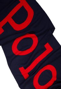 Polo Ralph Lauren - BIG SCARF - Sjal - navy/charter red - 3