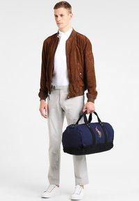 Polo Ralph Lauren - MULTI DUFFLE - Weekendbag - navy/black - 0