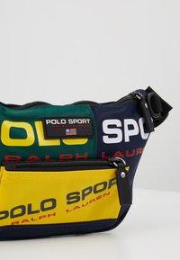 Polo Ralph Lauren - SPORT  - Bum bag - navy/green/yellow - 7