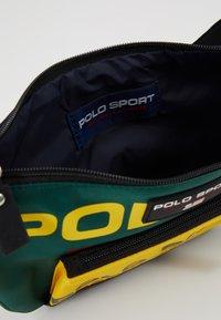 Polo Ralph Lauren - SPORT  - Bum bag - navy/green/yellow - 4