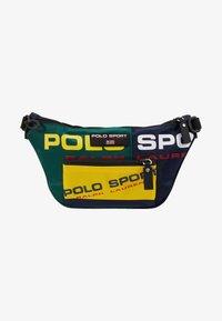 Polo Ralph Lauren - SPORT  - Bum bag - navy/green/yellow - 6